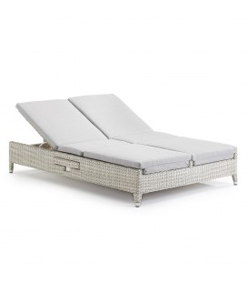 Cleveland Lecce Sunlounger  with Umbrella Hole and Tray