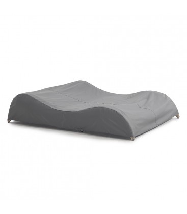 Luxor Double Sunlounger with Integrated Furniture Cover