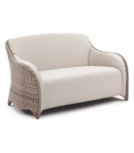 Luxor 2-Seater Sofa with Integrated Furniture Cover