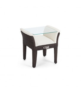 Bellano Side Table Cubu Croco / MarinaPLUS Creme