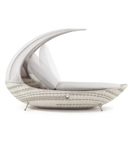 Crescent Single Sunlounger
