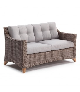 Corinaldo 2-Seater Sofa Cubu Taupe / Olefin Warm Grey