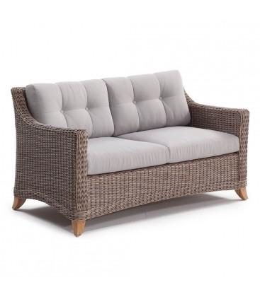 Corinaldo 2-Seater Sofa Cubu Taupe / Olefin Warm Grey